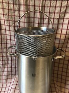 Zwilling Twin Specials pasta & vegetable cooker stainless pot IH 40990-005 3-Ply