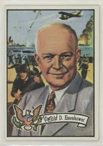 1972 Topps US Presidents Dwight D Eisenhower #33 0s4