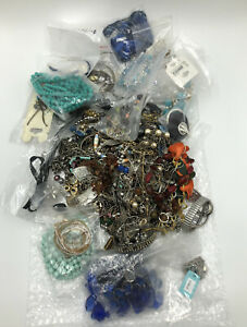 Over 6.5 lbs Jewelry Vintage amp; Modern for Crafts and Resale #312 $47.99