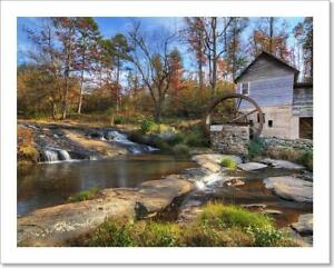 Laudermilk Mill Art Print / Canvas Print. Poster, Wall Art, Home Decor - I