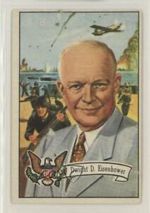 1956 Topps US Presidents Dwight D Eisenhower #36 z6d