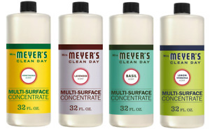 Mrs. Meyers Clean Day, Multi-Surface Concentrate Cleaner, Assorted 32 oz ✔️✔️✔️
