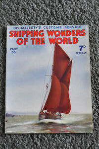 SHIPPING WONDERS OF THE WORLD PART 36 THE ROMANTIC NORTH SEA CUSTOMS FAEROES. GBP 6.99