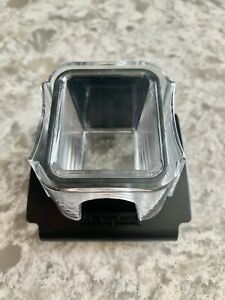 Pampered Chef Microplane Food Grater FOOD HOLDER ONLY NO GRATER - Clear Top