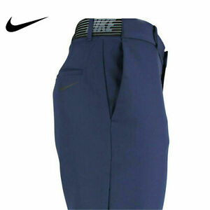 $90 Nike Flex Golf Shorts Men's 36 Slim Fit Dri fit 891932 451 Navy Blue NWT $81.00