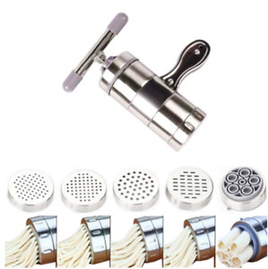 Stainless Steel Fresh Pasta Spaghetti Noodle Maker Kitchen Manual Machine Tool