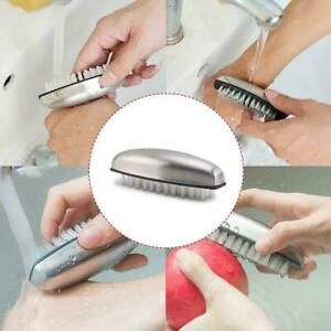 1Pcs stainless steel Hand Washing Brushes Remove Hands Onion Garlic Fish V0P8