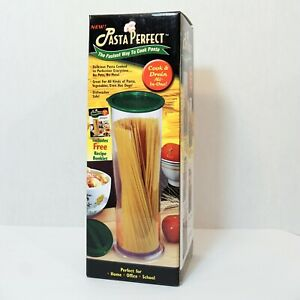 Pasta Perfect No Mess Cooking Canister - Cook and Drain All In One