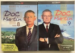 Doc Martin: Series 8 & 9 DVD, 2017, 3 Disc Set USA Canada Region 1