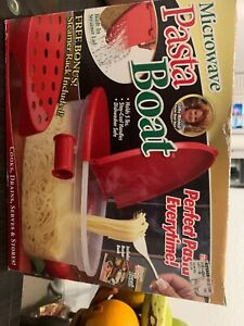 Microwave Pasta Boat by Telebrands As Seen On TV Perfect Pasta
