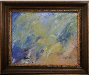 Original (One Of A Kind) Oil Painting Framed And Signed By The Artist -Beautiful $44.95