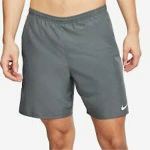 Nike 7 Running Shorts gray lined 2XL 4190 $22.00