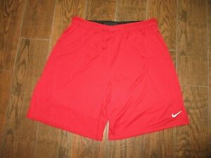 Mens Nike Dri Fit RED Training Running Workout Shorts Sz. 2XL $19.95