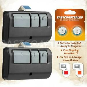 2 Garage Remote Opener For Sears Craftsman LiftMaster 971LM 973LM 139.53681B