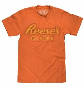 Reese#x27;s Pieces Retro Vintage Orange Classic Candy T Shirt Tee New Mens $16.49