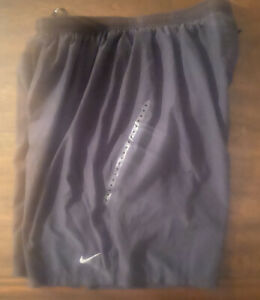 Nike Men's Running Shorts Dri Fit 7 Shorts Large 622072 Black HBX6 $16.99