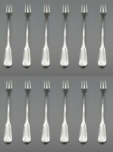 Oneida Silverplate Lady Hamilton 1985 Cocktail Forks Set of Twelve Made in USA