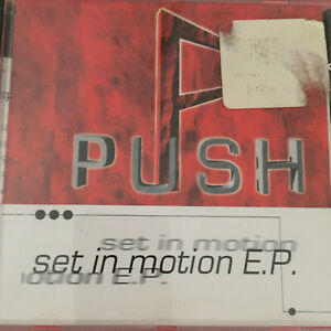 Push: Set In Motion E.P. CD : Free PP: MT GBP 2.75
