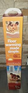 SunTouch 8 ft. x 30 in. 120V Electric Floor Heating Tape Mat 25 Sq.Ft.