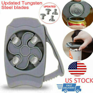 New Go Swing Topless Can Opener Manual Can Opener Bottle Opener Kitchen Tool USA