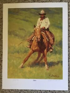 Keith Christie quot;Chicoquot; lithograph signed numbered $15.00