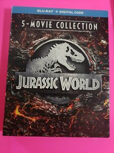 Jurassic World 5 Movie Collection BLU RAY with slipcover NO DIGITAL $18.99
