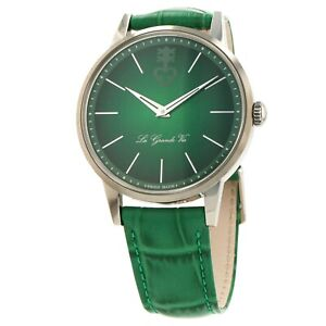 Corum Heritage La Grande Vie 42mm Green Dial Automatic Mens Watch Box and Papers $3000.00