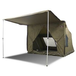 Oztent RV 5 Heavy Duty 5 Person Waterproof Camping Tent with Sun Awning Green