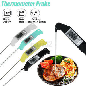 Instant Digital Food Thermometer Probe Cooking Meat Temperature BBQ Kitchen $4.74