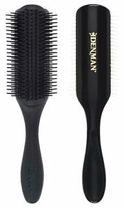Denman Classic Styling Brush 9 Rows Black Brand New