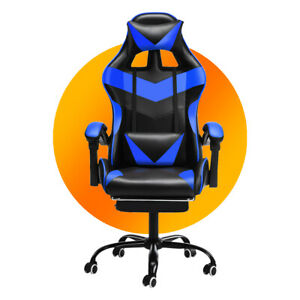 Office Gaming Chairs 150° Recliner Racing High Back Swivel Task Desk Sport Chair
