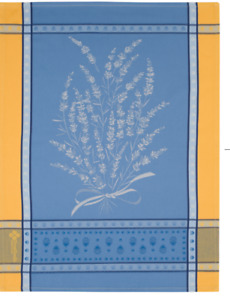 NWT: FRENCH 100% COTTON JACQUARD DISH KITCHEN TOWEL GRIGNAN MADE IN FRANCE