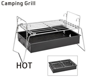 INTBUYING Best Camping Portable Barbecue Grills Outdoor Small BBQ Charcoal Stove