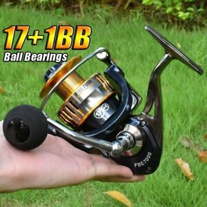 Saltwater Spinning Reel Fishing Reels 171BB 2000 7000 Metal Reel Fishing Tackle