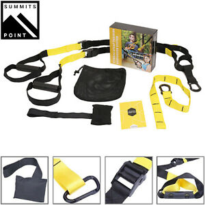 Home Gym Suspension Resistance Strength Training Fitness Straps Workout Trainer $31.25