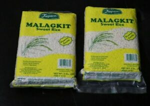 Tropics Sweet Sticky Rice Malagkit Pack of Two 2 lbs each pack