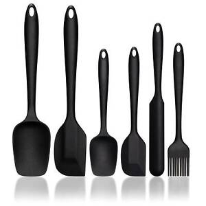 Silicone Kitchen Utensil Spatula Set Heat Resistant Spatula for Cooking amp; Baking