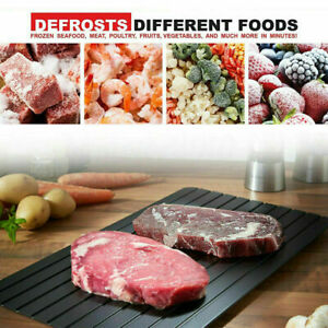 Rapid Defrosting Tray Fast Thawing Board Safe Defrost Meat Frozen Food Plate