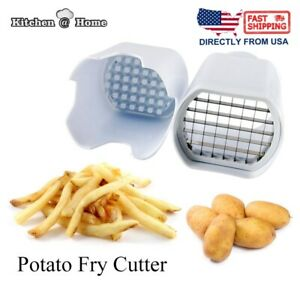 Potato Cutter French Fry One Step Vegetable Fruit Slicer Homemade Fries Tool New