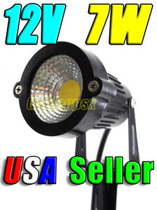 12V AC DC 7W Warm Soft White LED Wall Wash Flood Landscape Garden Light