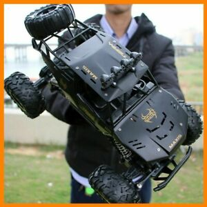 1 12 4WD RC Monster Truck Car Off Road Vehicle Remote Control Crawler Buggy Toy $53.99