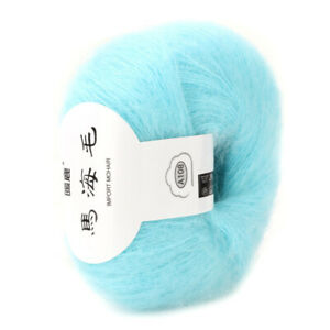 Soft Warm Mohair DIY Knitting Angora Wool Yarn Crochet Anti pilling $6.22