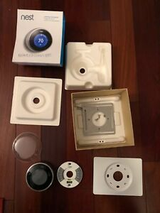 Nest 2nd Generation Learning Stainless Steel Programmable Thermostat T200577