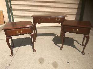 Harden Furniture Console Table amp; 2 End Tables