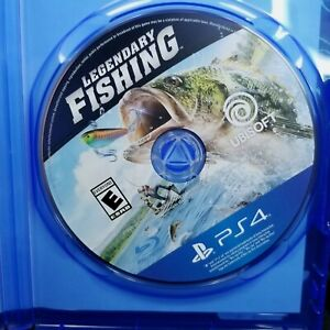 Legendary Fishing for PlayStation 4 PS4 Video Game Missing Cover Art