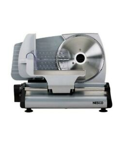 Electric Meat Cheese Slicer Food Cutter 7.5 Inch Blade Sliding Heavy Steel New