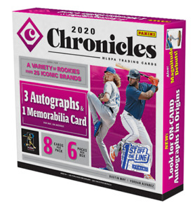 *SAVE 30%* 2020 PANINI CHRONICLES BASEBALL 25 DIFFERENT SETS *UPDATED 10 30* $75.00