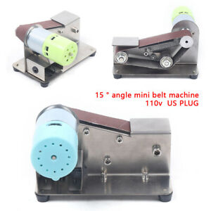 Electric Grinder Belt Sander DIY Polishing Grinding Stainless steel Machine New