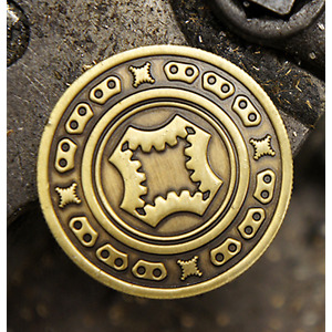 Full Dollar Coin Bronze by Mechanic Industries $10.75