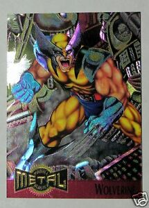 WOLVERINE Promo Card 1995 Marvel METAL quot;The Dawn of the Metal Agequot; $3.99